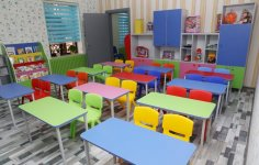 First VP Mehriban Aliyeva attends opening of kindergarten in Baku (PHOTO) - Gallery Thumbnail