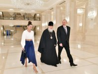 President Ilham Aliyev and First Lady Mehriban Aliyeva meet with Patriarch Kirill of Moscow and All Russia (PHOTO) - Gallery Thumbnail
