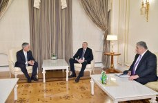 President Ilham Aliyev received Formula 1 Group CEO (PHOTO) - Gallery Thumbnail