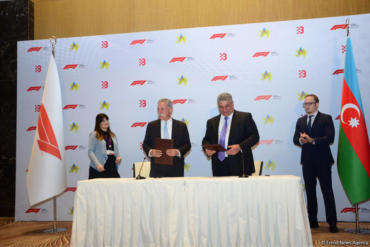 Azerbaijan extends contract to host Formula-1 (PHOTO) - Gallery Image