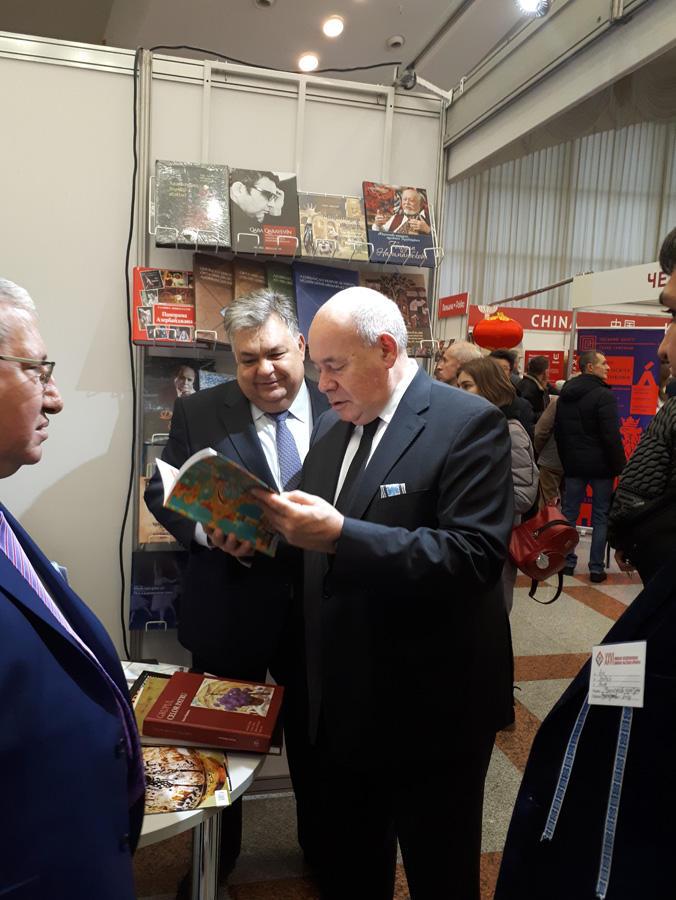 Azərbaycan Belarusda keçirilən beynəlxalq kitab sərgi-yarmarkasında təmsil olunur (FOTO) - Gallery Image