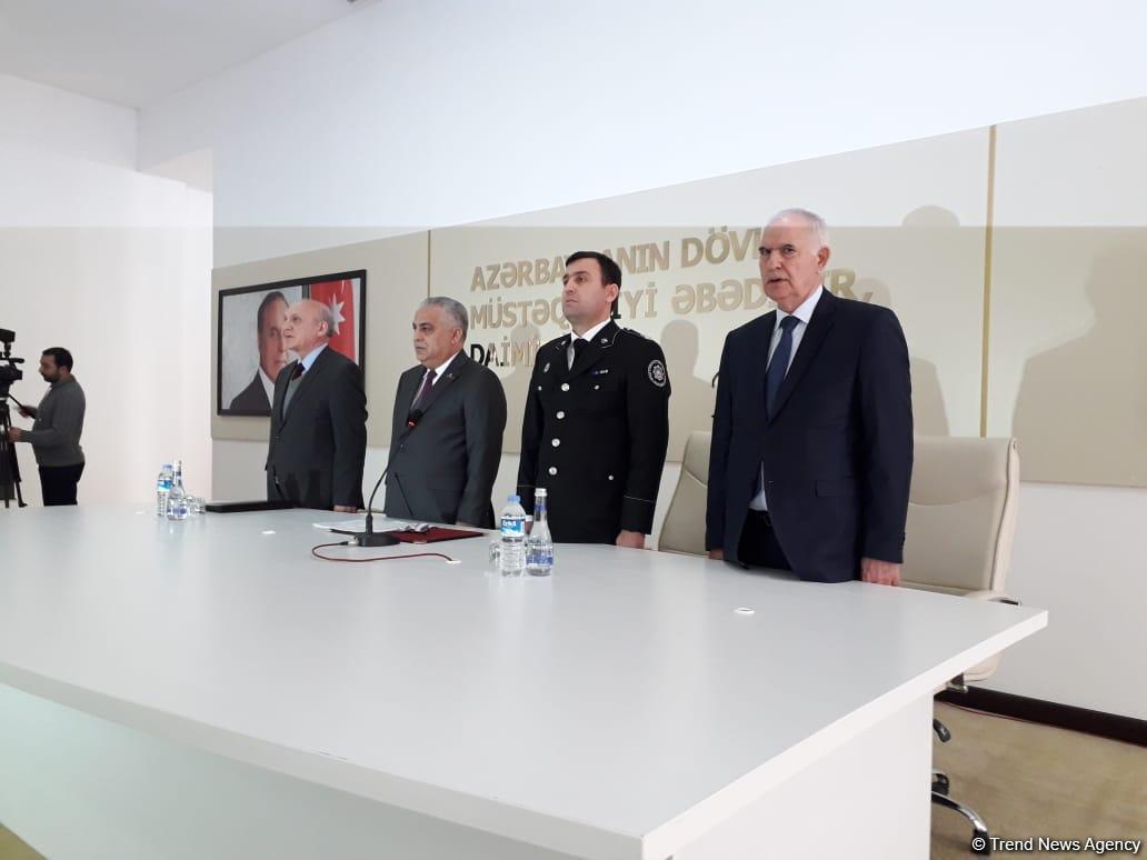 В Губе прошло мероприятие, посвященное 100-летию создания органов безопасности в Азербайджане (ФОТО)