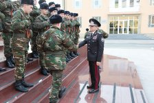 Azerbaijani soldiers participate in oath-taking ceremony (PHOTO) - Gallery Thumbnail