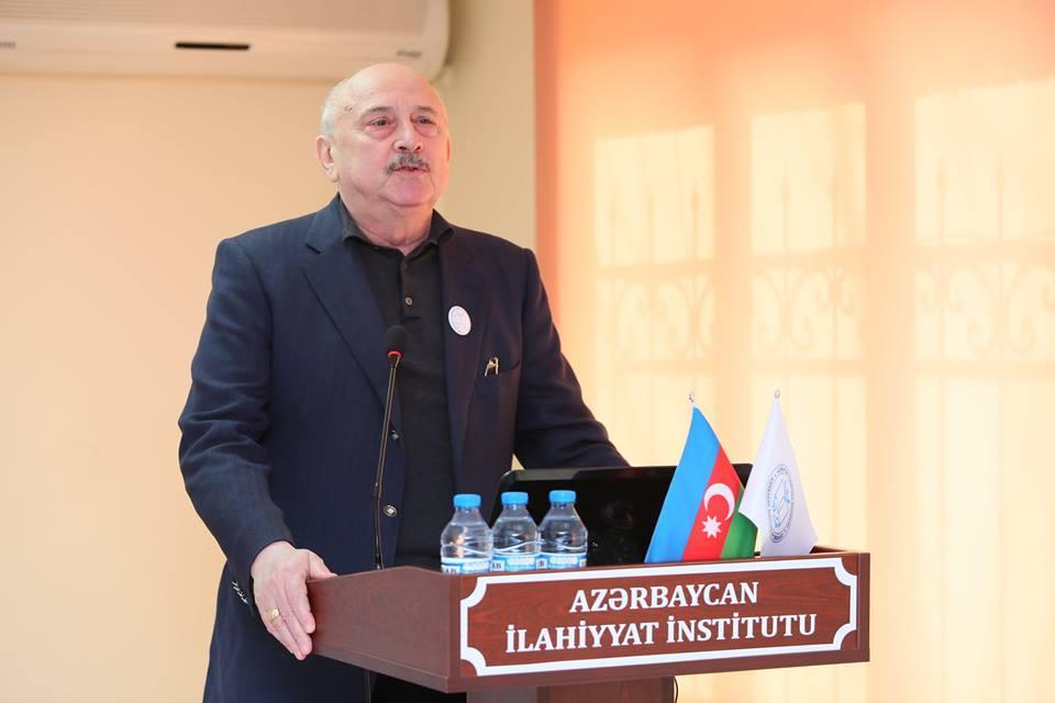 Azərbaycan İlahiyyat İnstitutunun birillik fəaliyyəti ilə bağlı tədbir təşkil olunub (FOTO) - Gallery Image