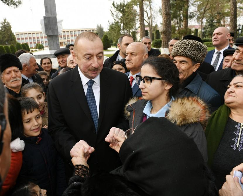 Ilham Aliyev attends opening of History and Local Lore Museum in Beylagan (PHOTO) - Gallery Image
