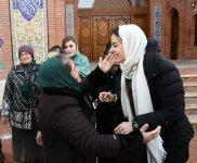 """Birinci vitse-prezident Mehriban Əliyeva Gəncədə """"İmamzadə"""" dini kompleksini ziyarət edib (FOTO) - Gallery Thumbnail"""