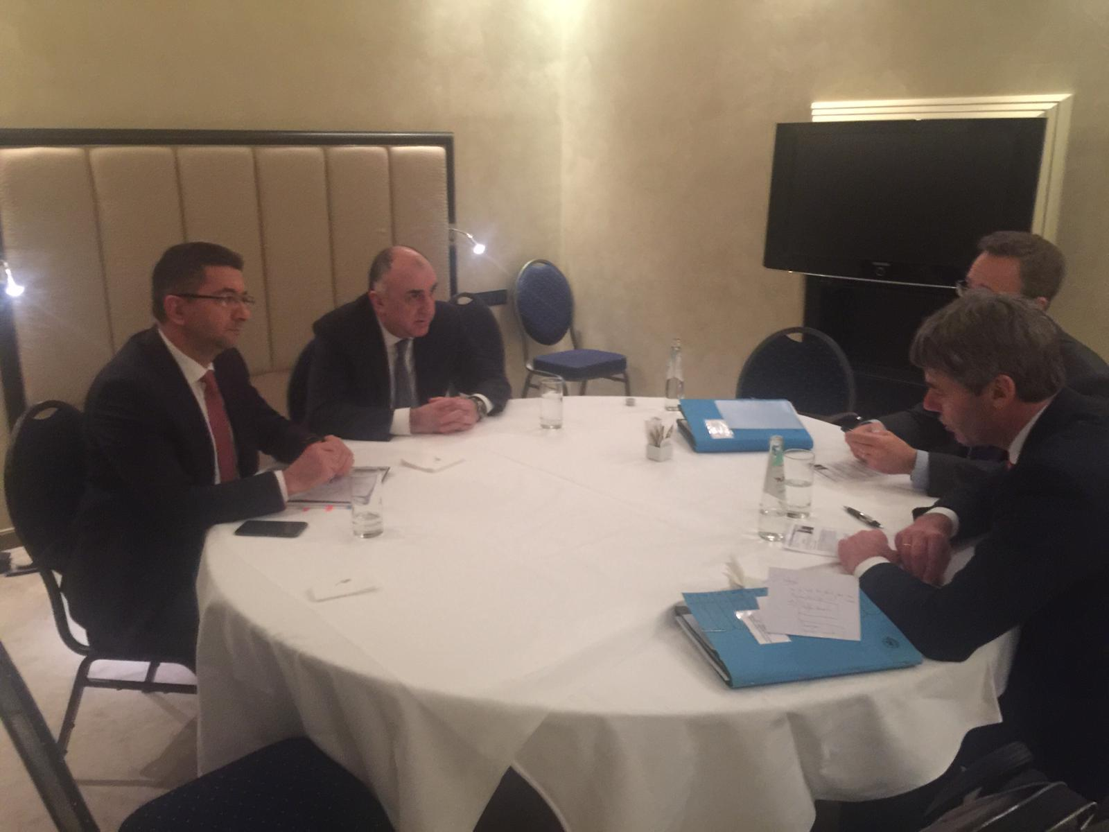 Mammadyarov meets with Foreign and Security Policy Adviser to German Federal Chancellor (PHOTO)