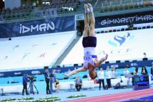 Winners of tumbling competition as part of World Cup awarded in Baku (PHOTO) - Gallery Thumbnail