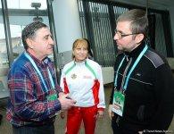 Консул посольства Болгарии в Азербайджане встретился с гимнастами в рамках Кубка мира по прыжкам на батуте и тамблингу (ФОТО) - Gallery Thumbnail