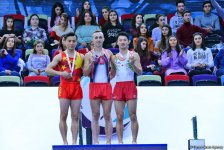 Winners of individual trampoline program as part of World Cup awarded in Baku (PHOTO) - Gallery Thumbnail