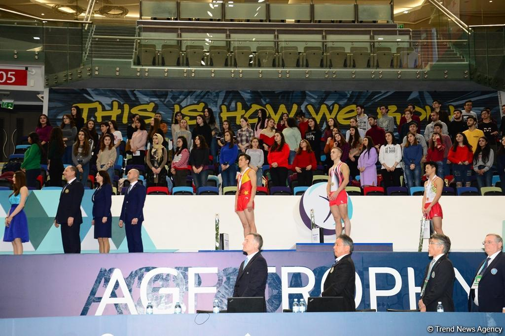 Winners of individual trampoline program as part of World Cup awarded in Baku (PHOTO) - Gallery Image