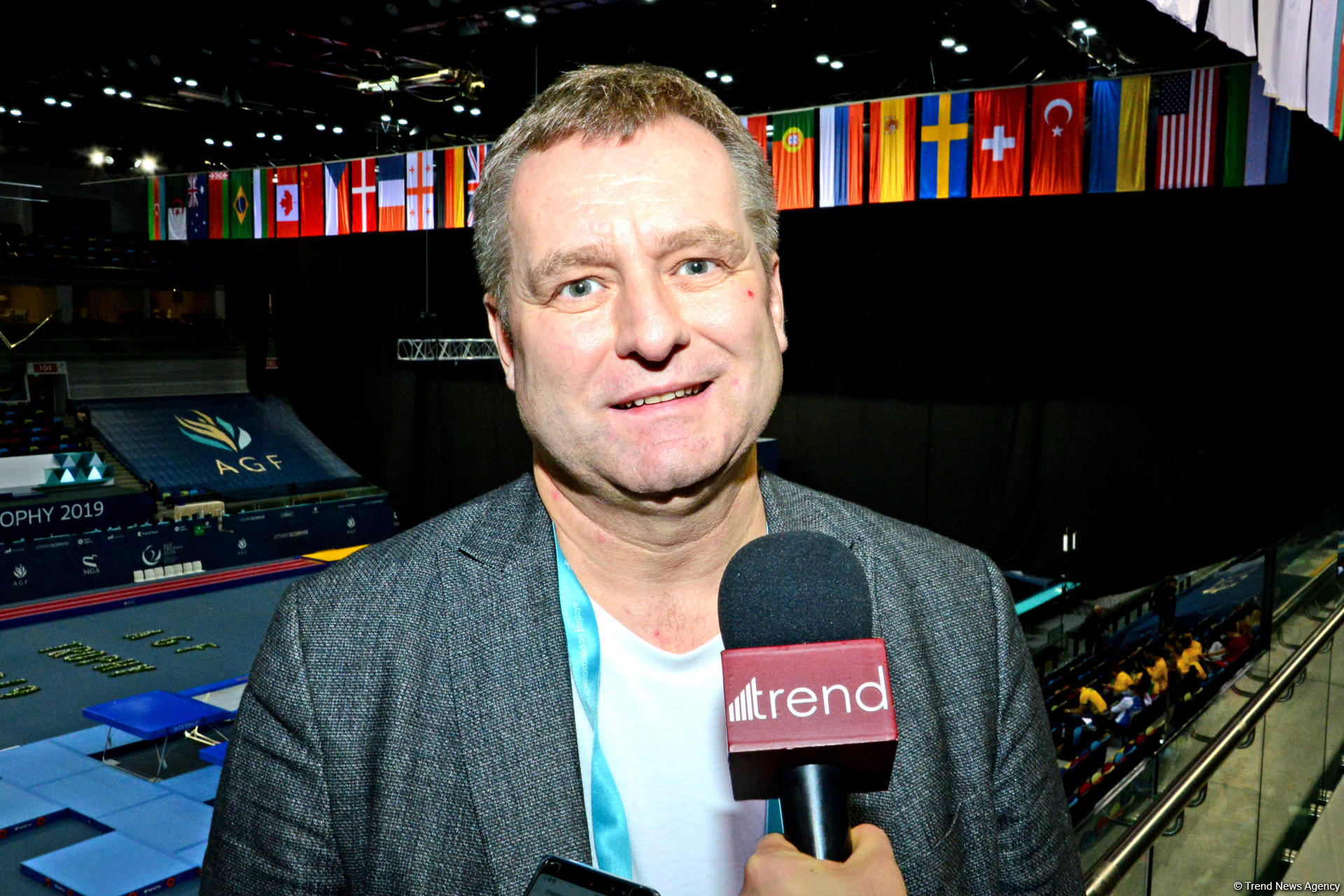 Ambassador: World Cup in trampoline and tumbling in Baku organized at very high level