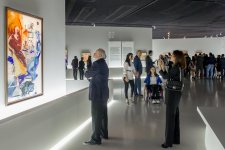 Heydar Aliyev Foundation VP attends exhibition of Russian avant-garde artists in Baku (PHOTO) - Gallery Thumbnail