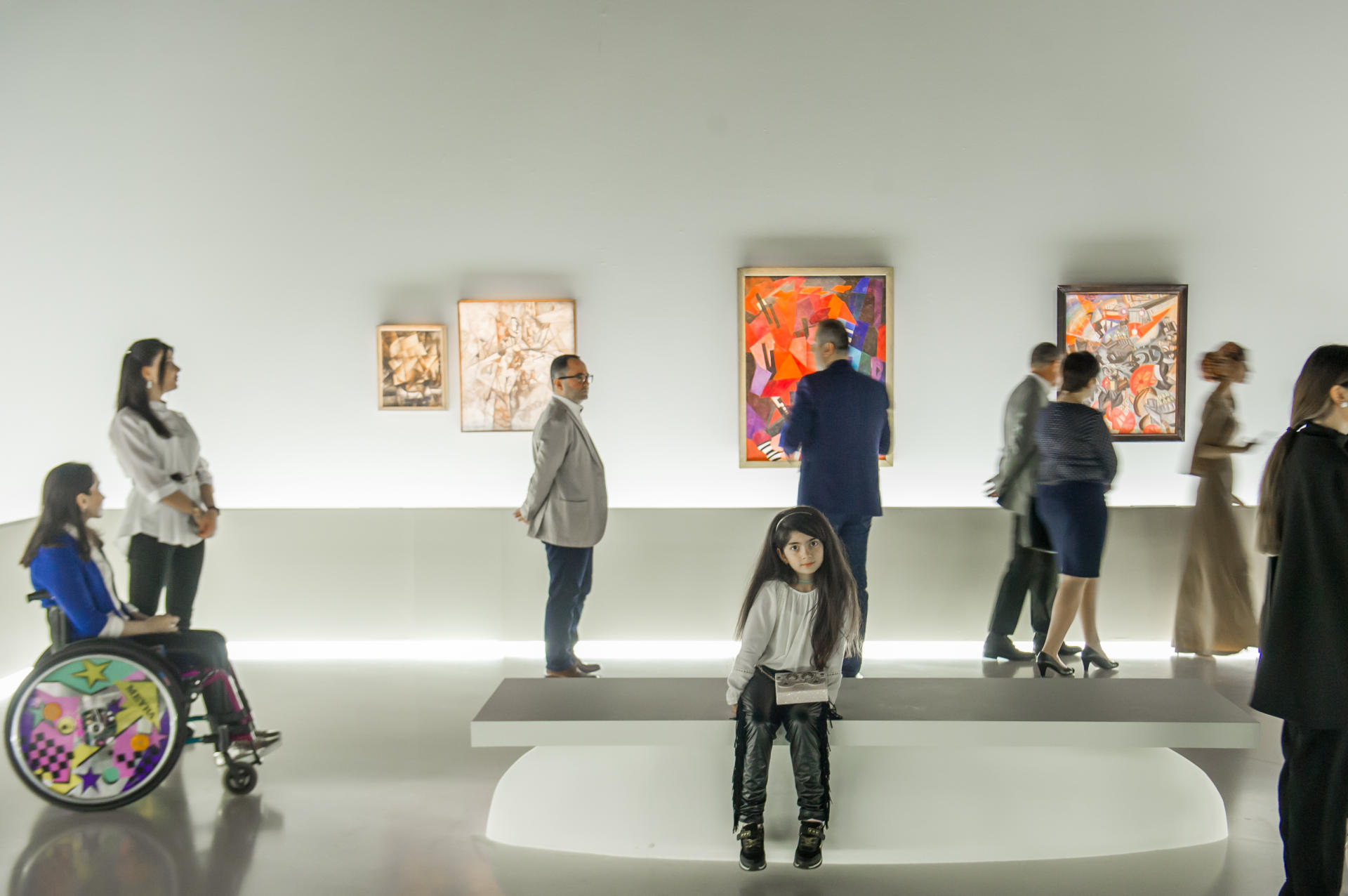 Heydar Aliyev Foundation VP attends exhibition of Russian avant-garde artists in Baku (PHOTO) - Gallery Image