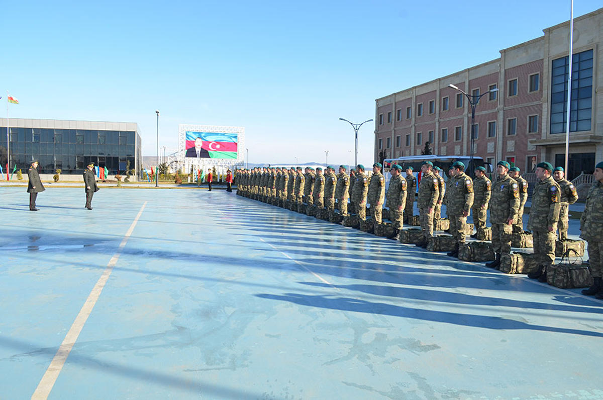 Azerbaijani peacekeepers back from Afghanistan (PHOTO) - Gallery Image