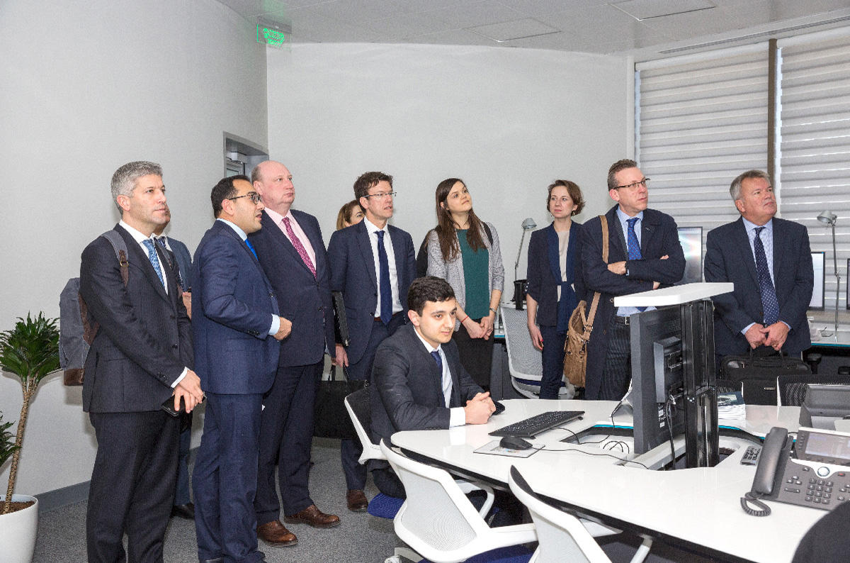 Azerbaijan, Europe strengthen cooperation in air traffic management (PHOTO) - Gallery Image