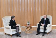 Ilham Aliyev meets US deputy assistant secretary of state for energy diplomacy (PHOTO) - Gallery Thumbnail