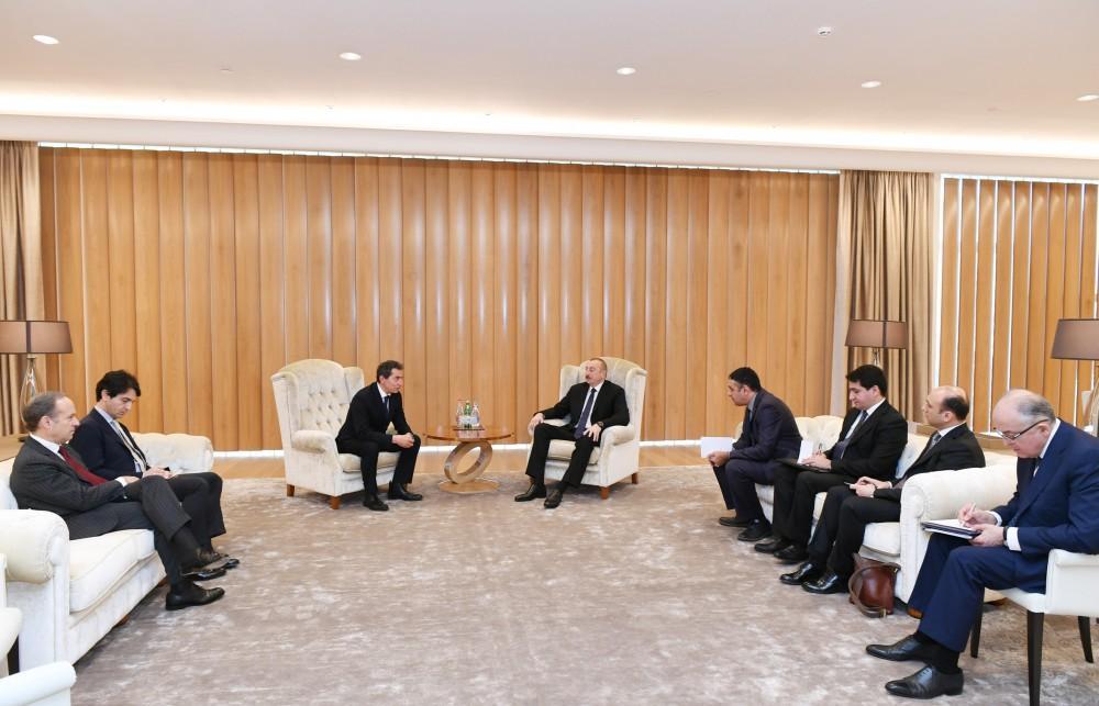 Prezident İlham Əliyevin İtaliyanın iqtisadi inkişaf nazirinin müavini ilə görüşü olub (FOTO) (YENİLƏNİB)