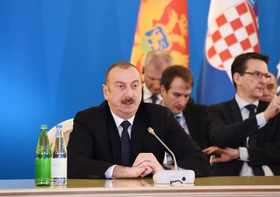 President Aliyev: Azerbaijan managed to invest huge amount of money in infrastructure