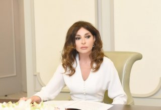 Azerbaijan's First VP Mehriban Aliyeva re-elected as President of Azerbaijan Gymnastics Federation