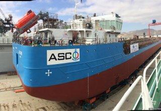 В Азербайджане спущен на воду новый танкер (ФОТО)