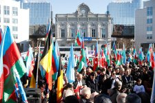Crowded European Karabakh rally staged in Brussels (PHOTO) - Gallery Thumbnail