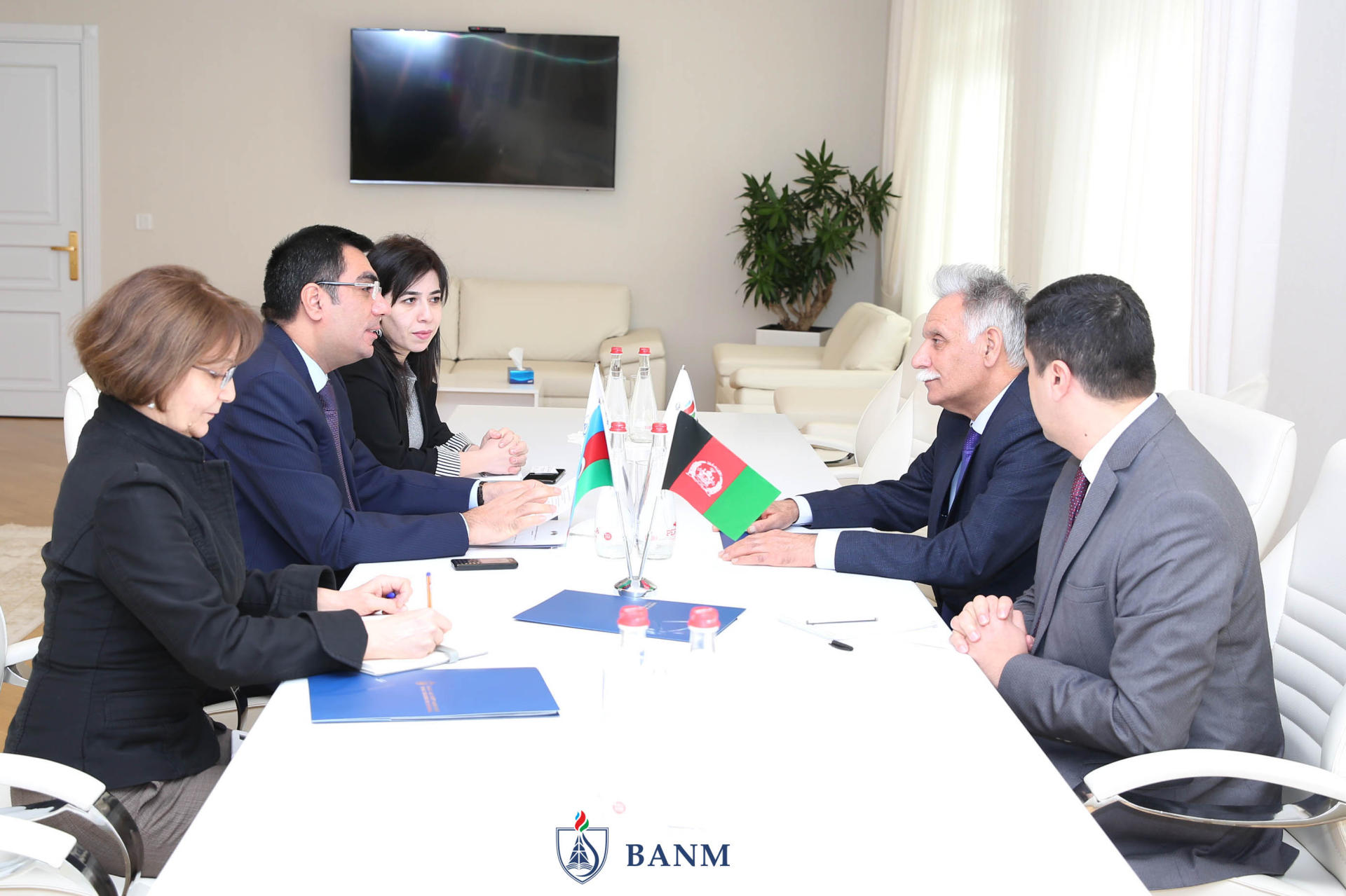 Ambassador of Afghanistan pays visit to Baku Higher Oil School (PHOTO) - Gallery Image