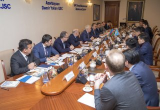 Potential available to improve efficiency of transport via Trans-Caspian Transport Route (PHOTO)
