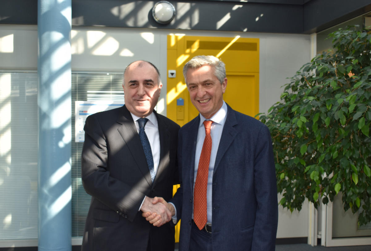 FM Mammadyarov mulls Karabakh conflict with UN High Commissioner (PHOTO) - Gallery Image