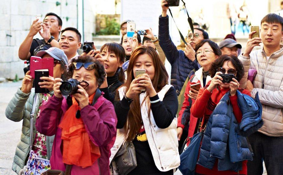 Number of Chinese tourists growing in Turkey