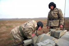 Проверяется уровень подготовки командиров батальонов ВС Азербайджана (ФОТО/ВИДЕО) - Gallery Thumbnail