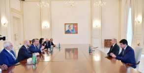 Ilham Aliyev receives delegation led by president of US-based Foundation for Ethnic Understanding (PHOTO) - Gallery Thumbnail