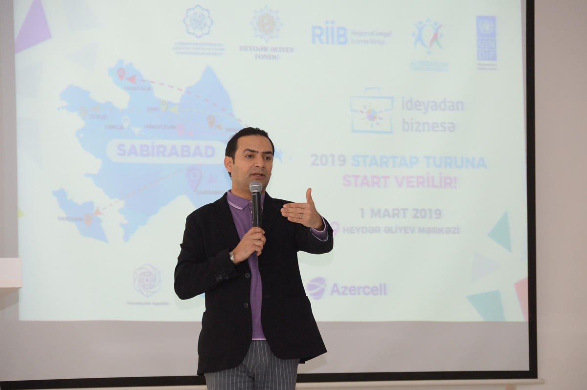 """""""From Idea to Business"""" project continues startup tours with Azercell's support (PHOTO) - Gallery Image"""