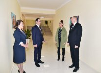 Azerbaijani president, first lady arrive in Shamakhi district for visit (PHOTO) - Gallery Thumbnail