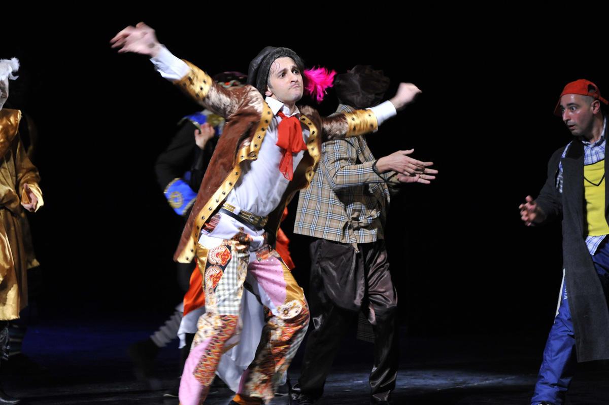 Milli Dram Teatrında yeni tamaşanın premyerası keçirilib (FOTO) - Gallery Image