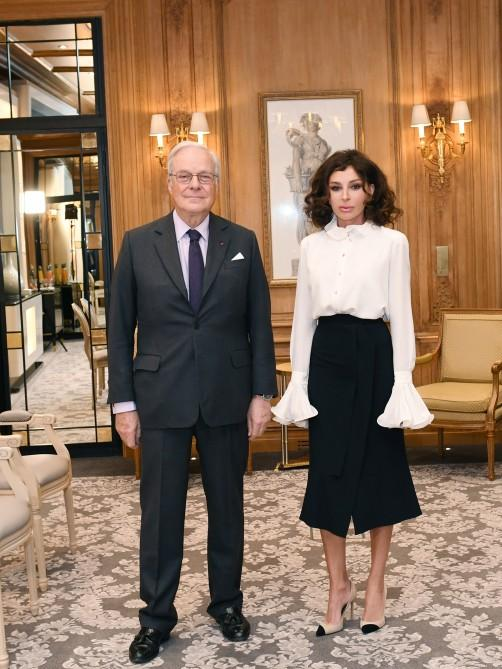 Azerbaijan's First VP meets chairman of Rothschild Global Financial Advisory (PHOTO) - Gallery Image
