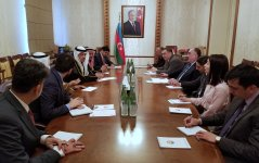 Mammadyarov meets with delegation of National Assembly of Kuwait (PHOTO) - Gallery Thumbnail