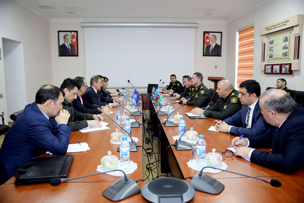 Azerbaijan holds introductory meeting with NATO