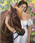 Сын перестал рисовать, а я продолжила…– художница Кямаля Алиева (ФОТО) - Gallery Thumbnail