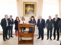 First Vice-President of Azerbaijan Mehriban Aliyeva meets President of French Senate Gerard Larcher (PHOTO) - Gallery Thumbnail