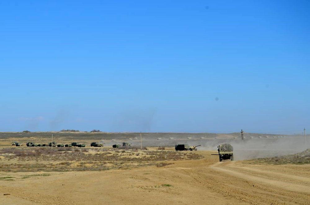 Азербайджанская артиллерия заняла огневые позиции (ФОТО/ВИДЕО) - Gallery Image