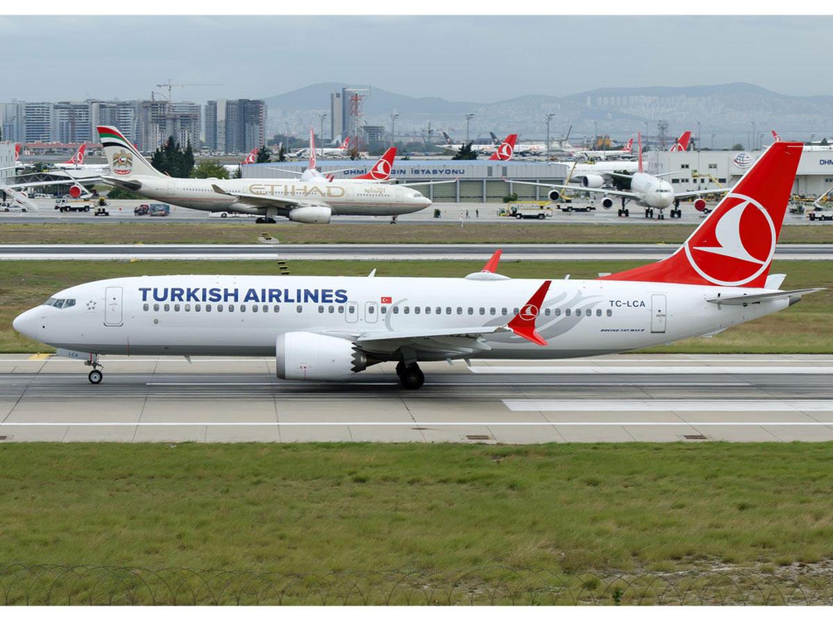 Приостановлены все рейсы Turkish Airlines из Туркменистана в Турцию