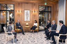 Azerbaijani first VP meets French economy and finance minister (PHOTO) - Gallery Thumbnail