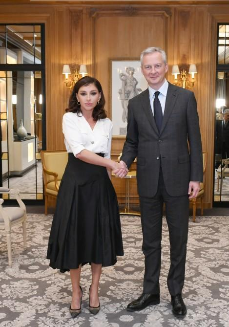 Azerbaijani first VP meets French economy and finance minister (PHOTO) - Gallery Image