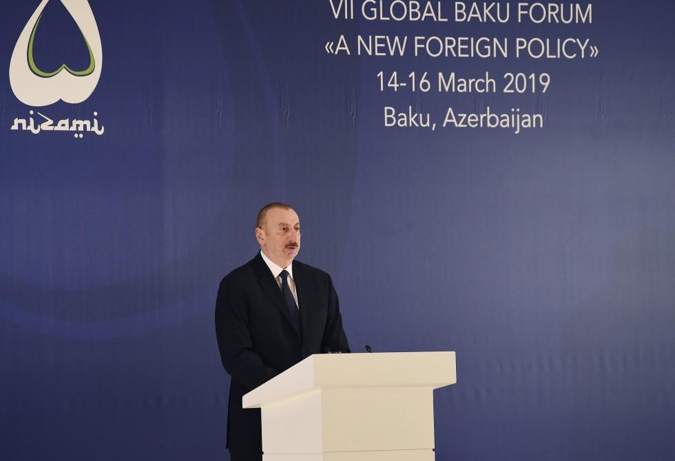 President Ilham Aliyev: Armenian government's attempts to change the negotiation format is unacceptable