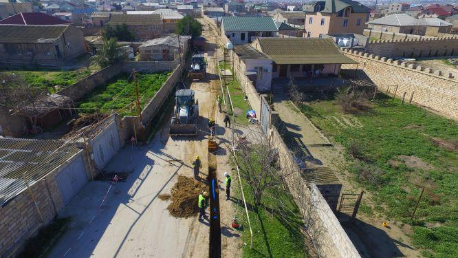В каких бакинских поселках создаются новые сети водоснабжения? (ФОТО)