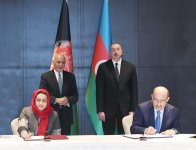 Azerbaijani president meets with Afghan counterpart (PHOTO) - Gallery Thumbnail