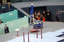 First day of FIG Artistic Gymnastics Individual Apparatus World Cup kicks off in Baku (PHOTO) - Gallery Thumbnail