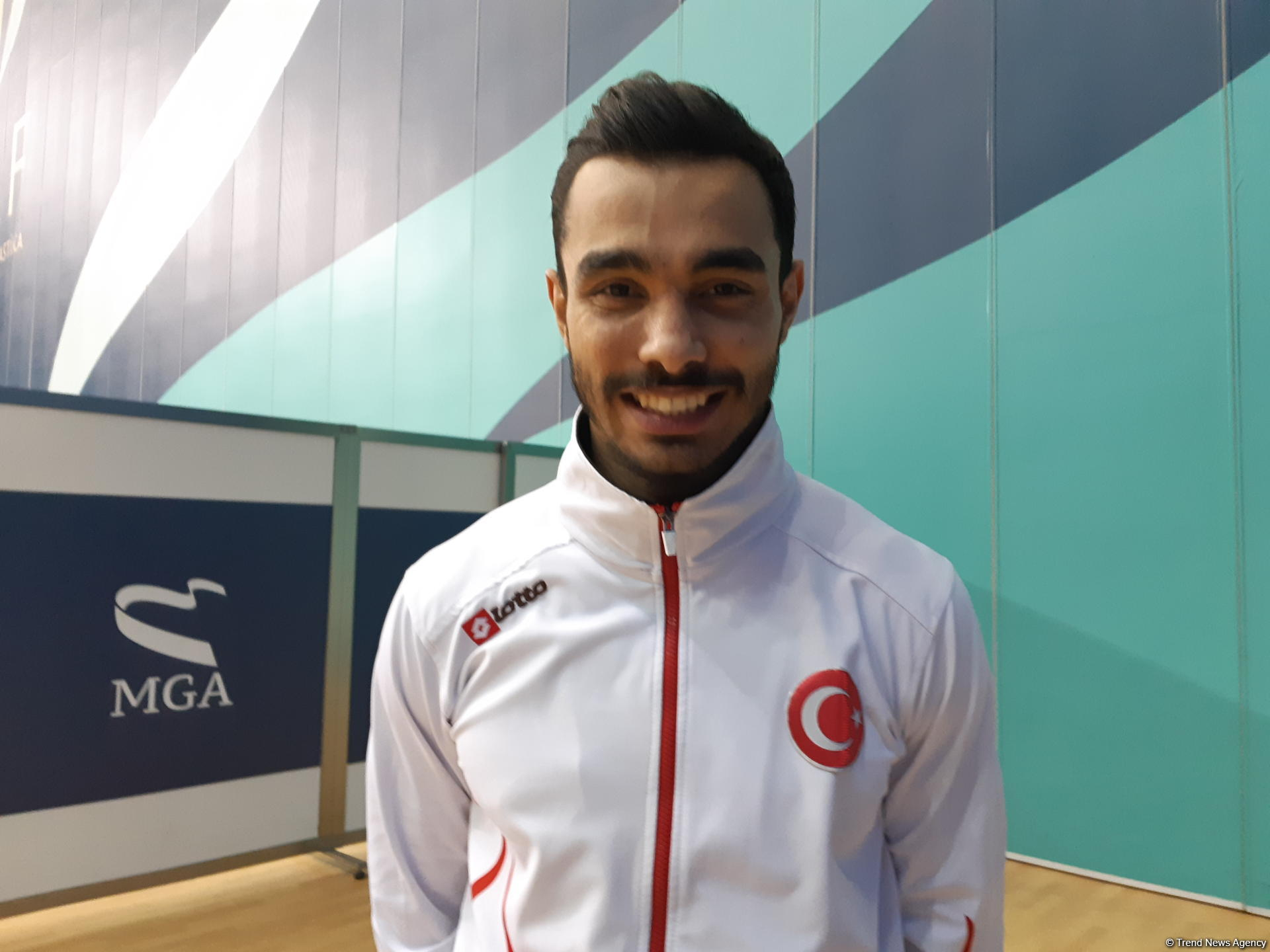 Gymnast Ferhat Arican: Azerbaijani fans strongly support us