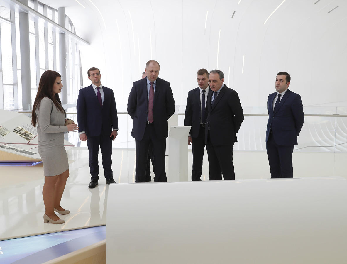 Delegation of Investigative Committee of Belarus continues visit to Baku (PHOTO)